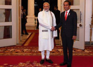 PM Modi with President Jokowi