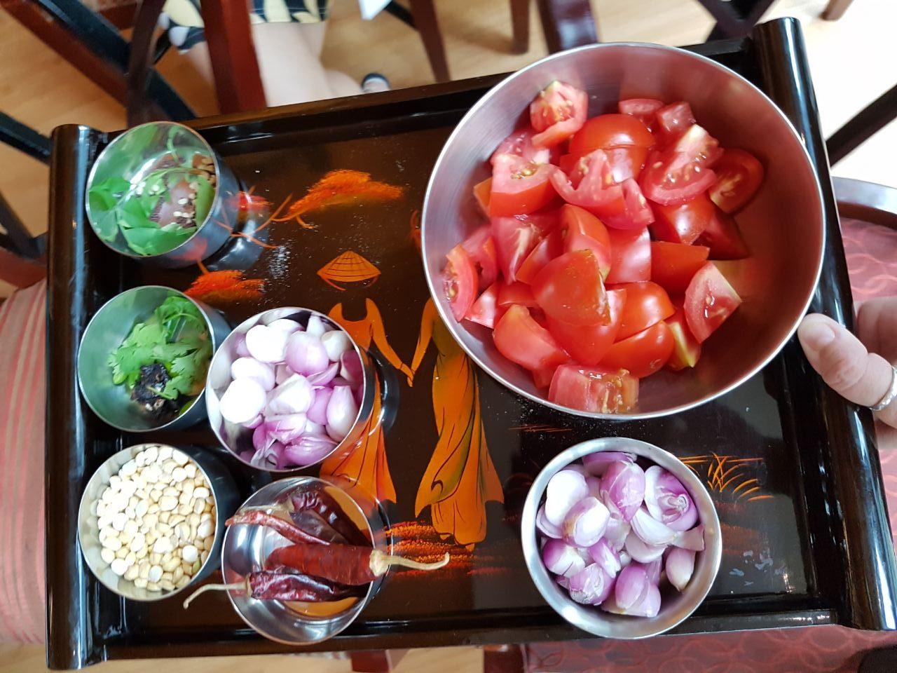 Tomato Chutney Ingredients