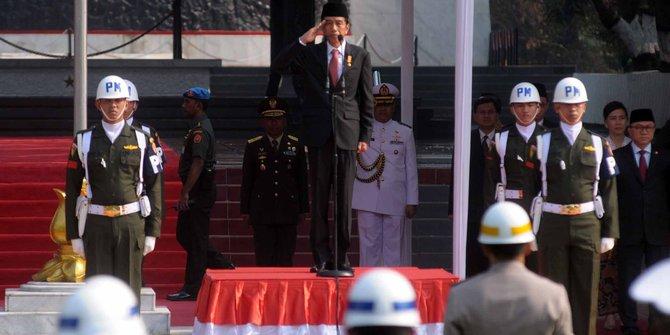 President Jokowi Widodo commemorating Pancasila Day of 2017.