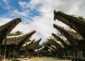 Tongkonan Torajan traditional houses