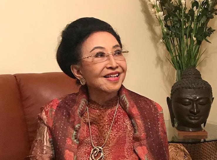 Ibu Mooryati Soedibyo, founder Mustika Ratu