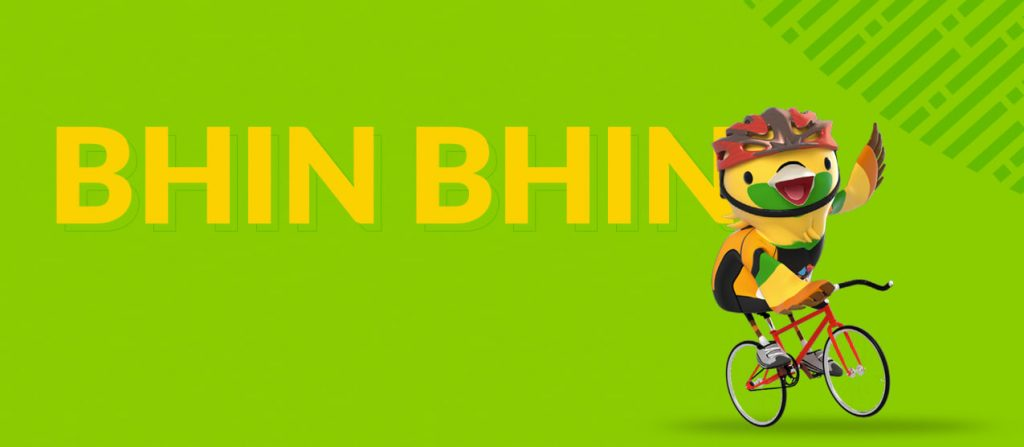 bhinbhin mascot asian games 2018