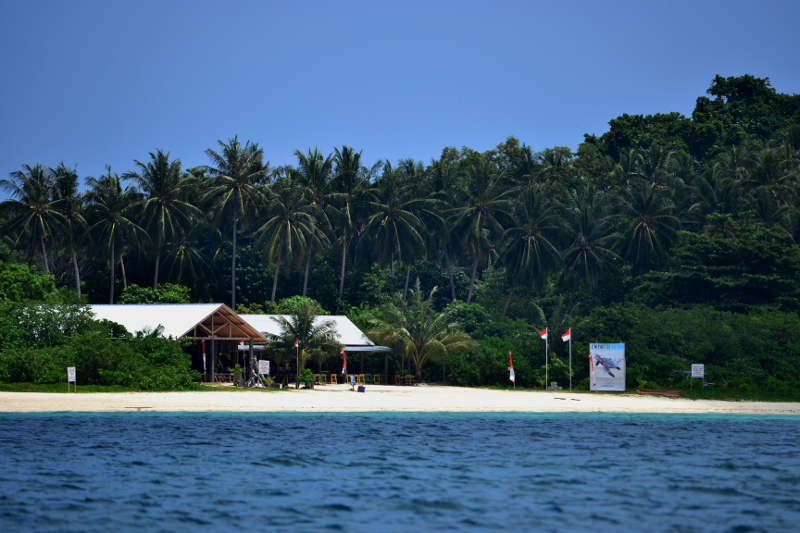 Pristine waters and bleached white sandy beaches of Belitung