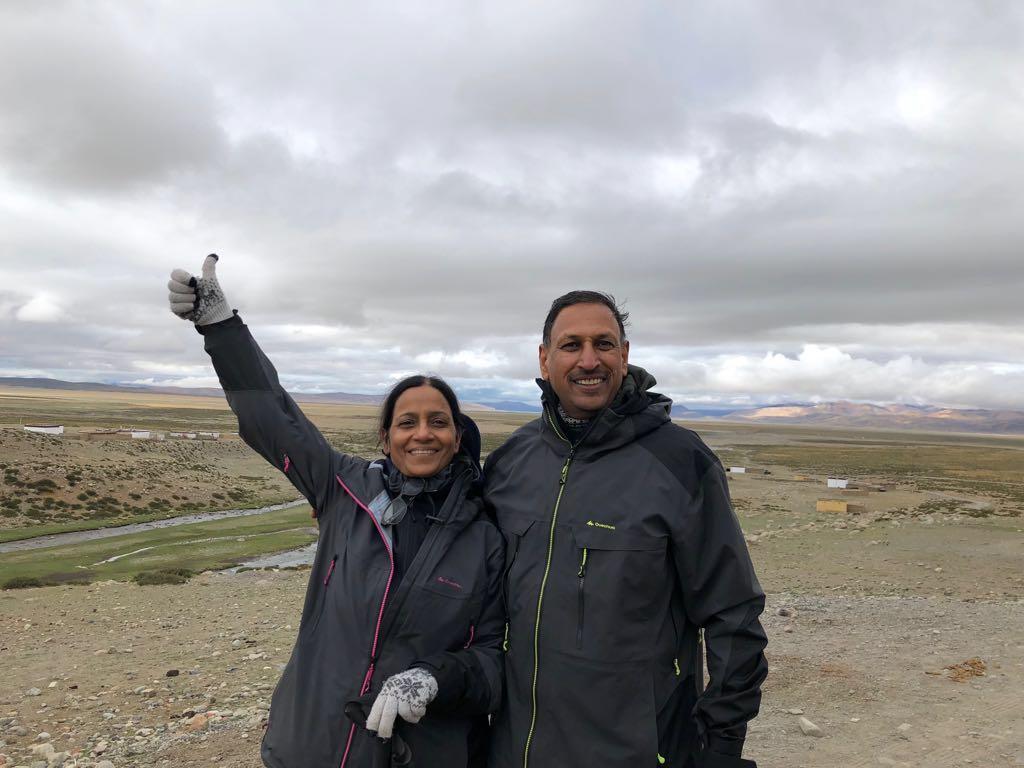 Archana on Kailash Mansarovar Trip