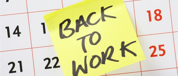 6 Steps to Return to Work After a Long Break
