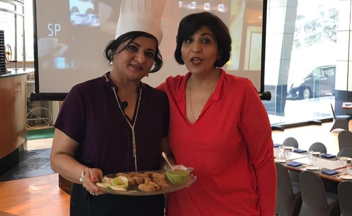 Meenu Baldwa shares her kebabs