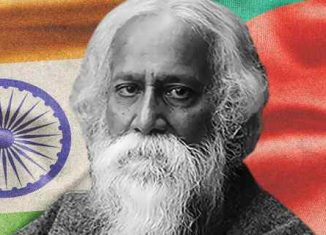 Rabindra Nath Tagore penned National Anthems