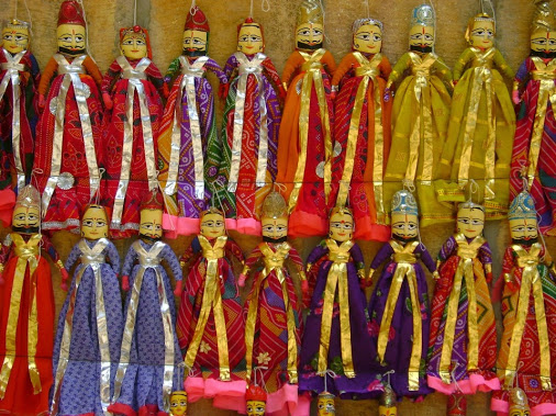 Rajasthani Kathputli in India