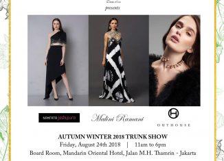 Melange Autumn Winter 2018 Trunk Show in Jakarta