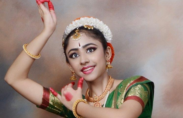 Ananya Balaji - young bharatnatyam dancer Jakarta
