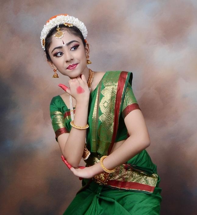 Ananya Balaji - young bharatnatyam dancer