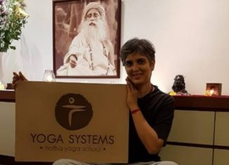 Maria Dsouza founder Yoga Systems Hatha Yoga School