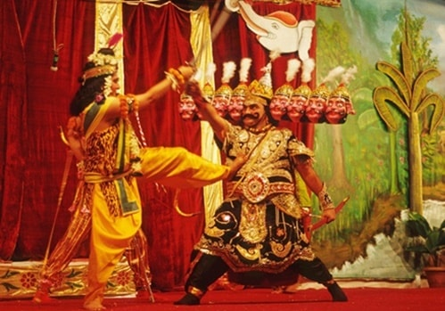 Ramleela the retelling of Ramayana