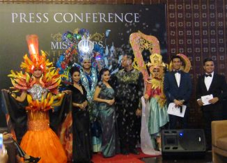 Press Conference of Miss and Mrs Inter-Nations Indonesia 2018