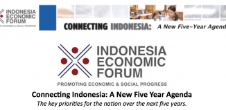 Indonesia Economic Forum 2018 - Connecting Indonesia: A New Five Year Agenda
