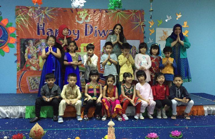 Celebrating-Diwali-at-Kiddie-Planet-Jakarta