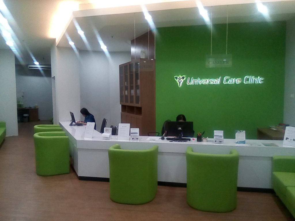 Universal Care Clinic Reception
