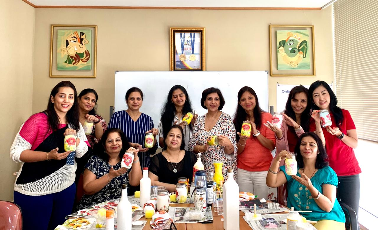 indoindians-event-report-decoupage-workshop-with-komal-pamnani