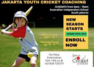 Jakarta Junior Cricket Coaching Season 9