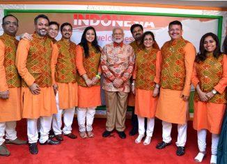 Hon`ble PM of India Shri Narendra Modi during his recent visit to Indonesia