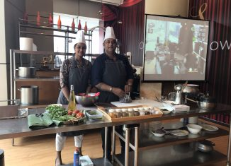 Team Firdos at Whatsup chef