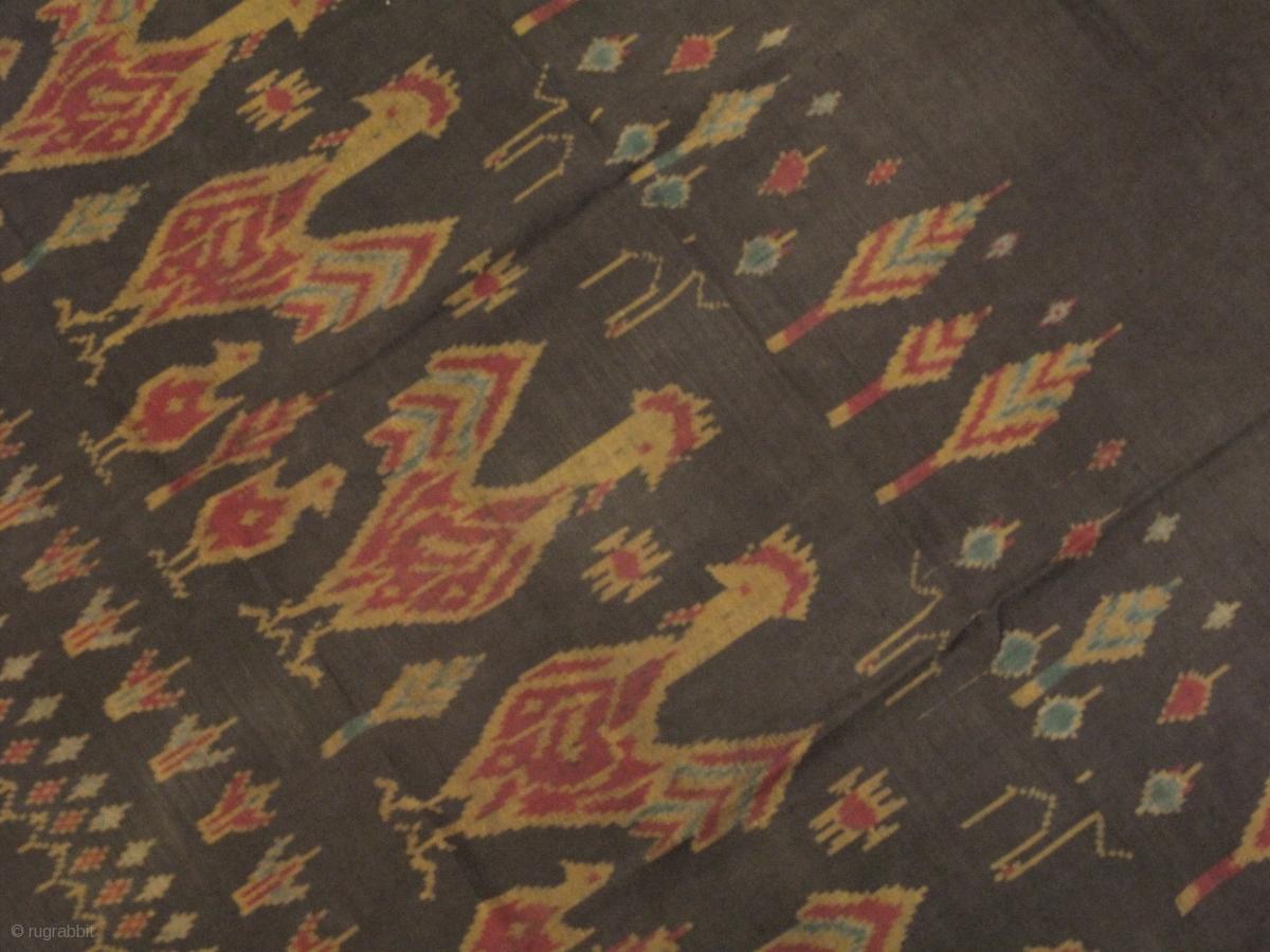 Thailand weft ikat fabric