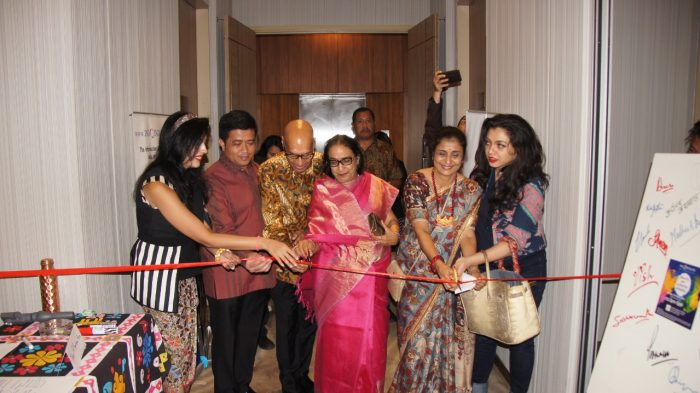 inaugration of charity art event 2019