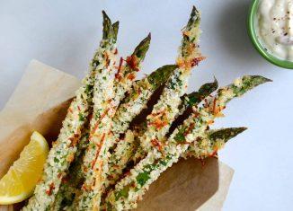 Keto-Recipe-Baked-Asparagus-Fries-Recipe