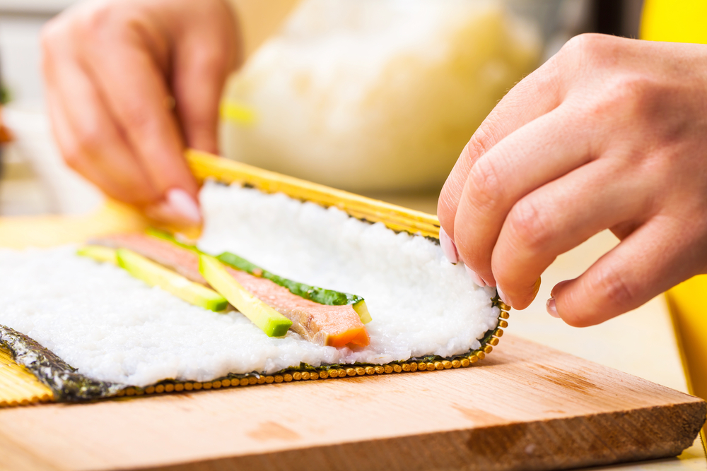 Indoindians Sushi class