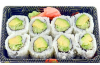 How to make avocado and cucumber roll sushi