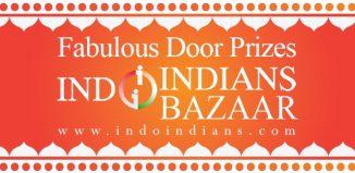 Indoindians Bazaar Fabulous Door Prizes