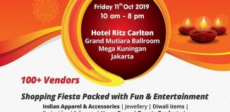 Indoindians Bazaar on 11th Oct at Hotel Ritz Carlton Jakarta