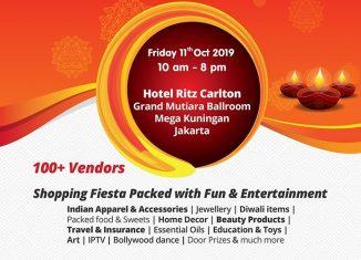 Indoindians Bazaar on 11th Oct at Hotel Ritz Carlton Jakarta