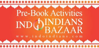 prebook activities at Indoindians Bazaar 11th Oct at Ritz Carlton