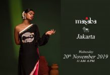 Masaba Jakarta by Indoindians 20th Nov at Westin