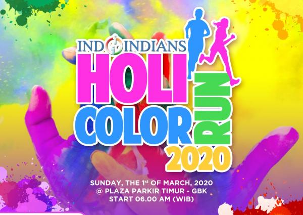 Get Tickets for IDCR Indoindians Holi Color Run March 1st 2020