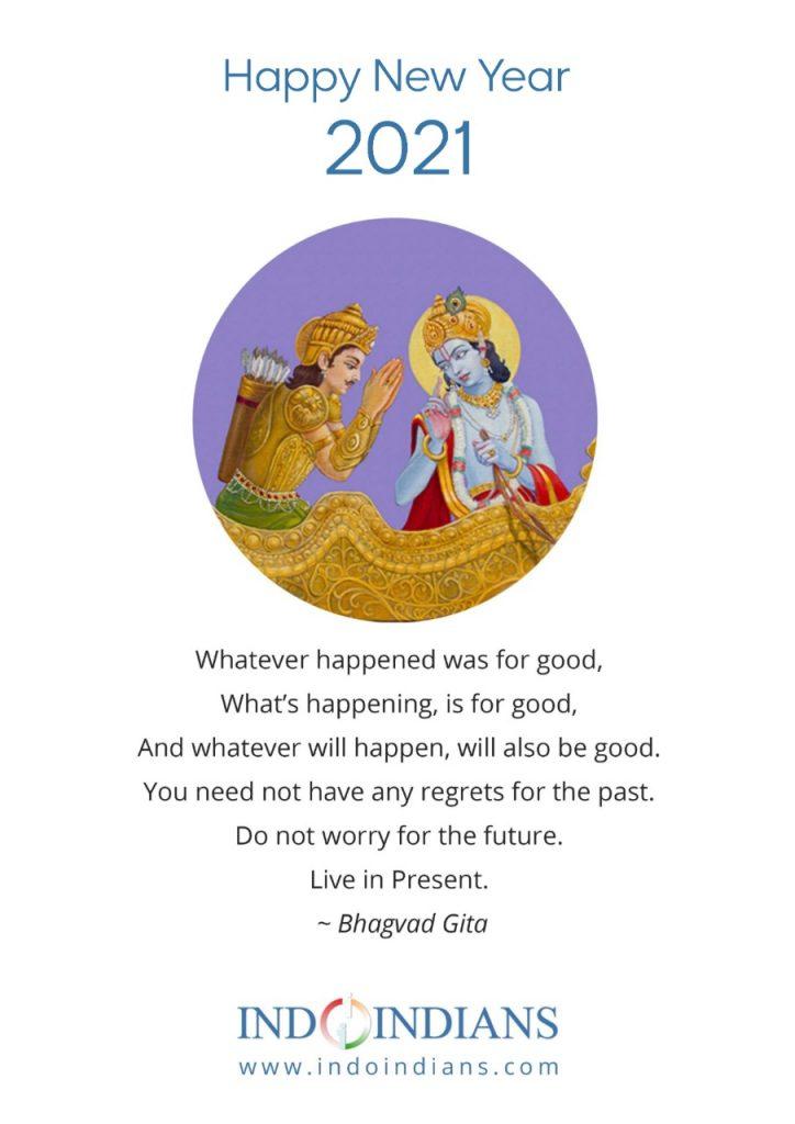 Indoindians Calendar 2021 - Bhagvat Gita