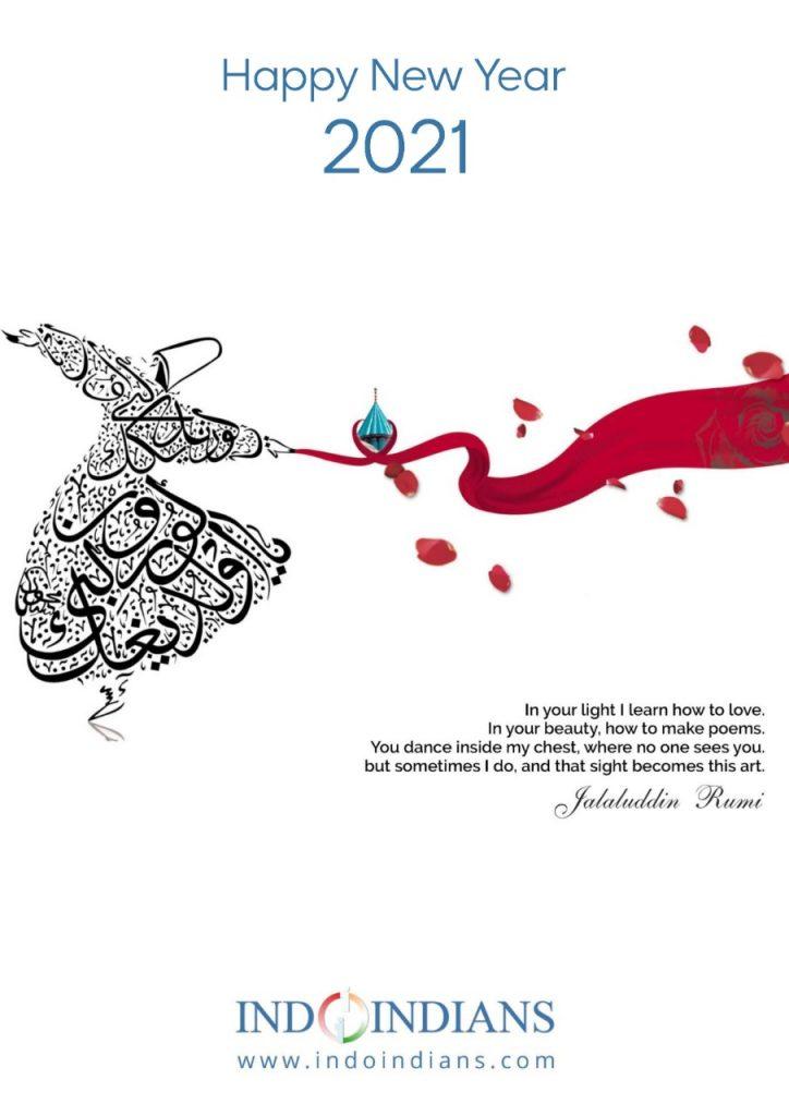 Indoindians Calendar 2021 - Rumi