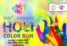 Indoindians Holi Color Run Tickets
