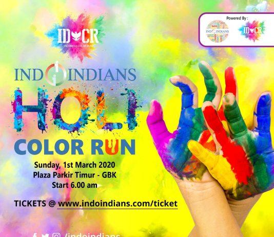 Indoindians Holi Color Run Tickets