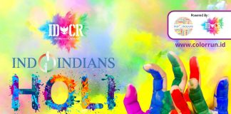 Indoindians Holi Color Run with Sponsor