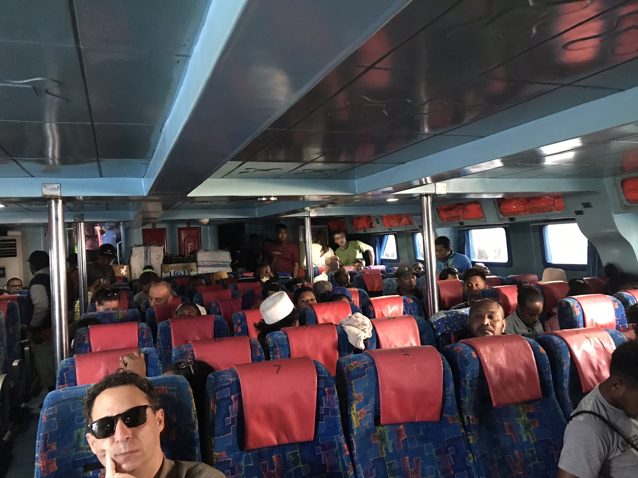 Sorong to Waisai Ferry, economy seating