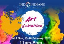 Indoindians Art Exhibition 2020 in conjunction with HT India Property Show