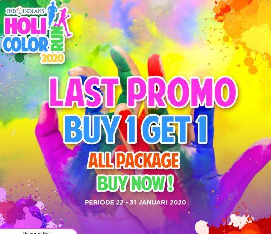 buy 1 get 1 promo IDCR Holi Color Run