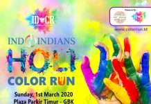 k fun IDCR Indoindians Holi Color Run on sunday, 1st March 2020, at GBK Senayan