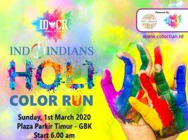 k fun IDCR Indoindians Holi Color Run on sunday, 1st March 2020, at GBK Senayan