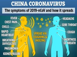 How CORONAVIRUS spreads