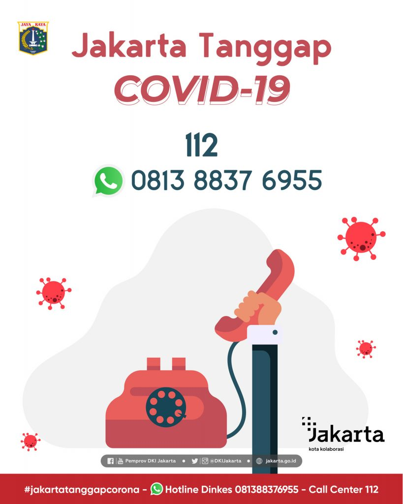 COVID Jakarta Helpline