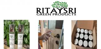 Rita Srivastava's Alcohol Based Sanitiser Spray