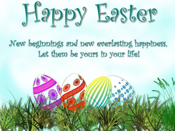 Easter is a time for new beginnings